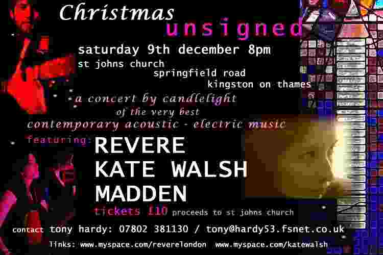 Christmas Unsigned poster