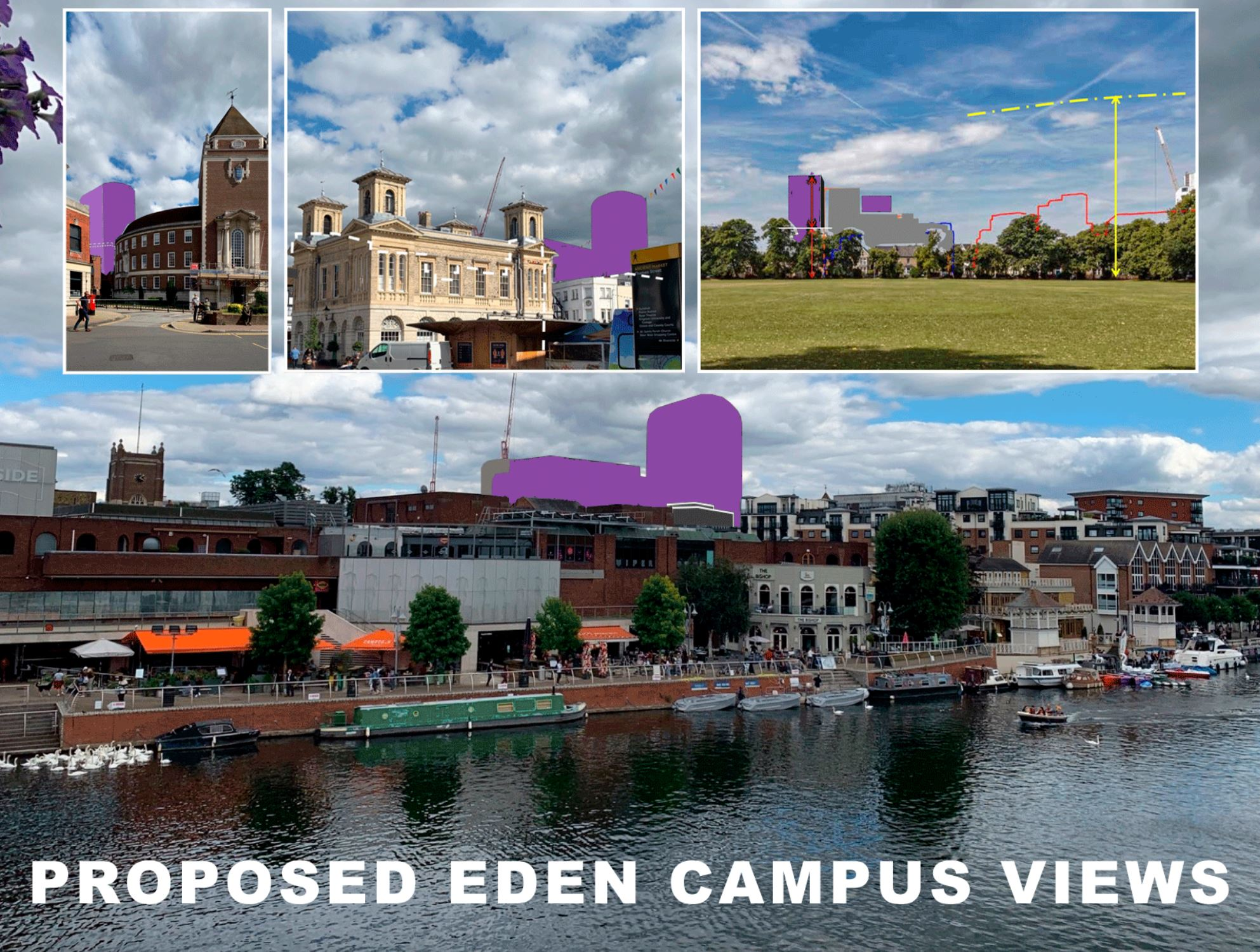 Eden Campus impact - picture from Edencampusviews.co.uk website